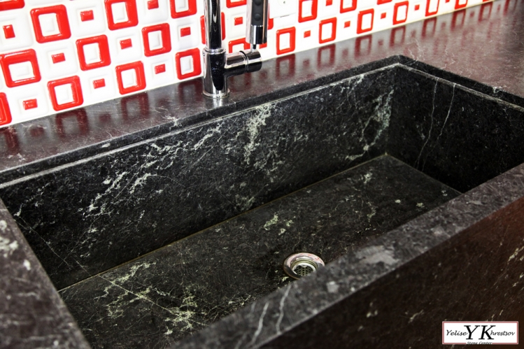 Yk stone center introduces kitchen sink out of granite yk marble more workwithnaturefo
