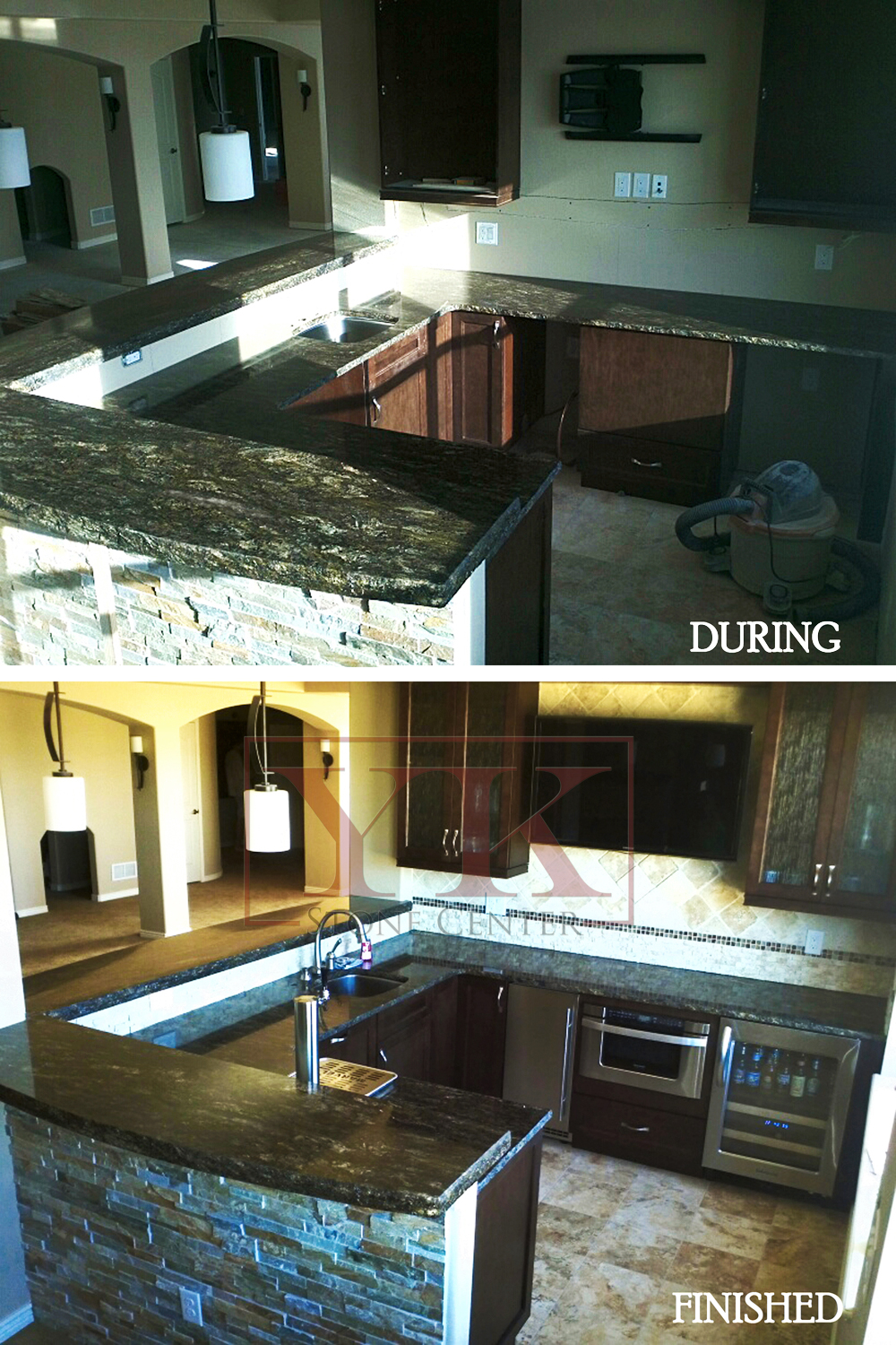Cosmos Granite Kitchen Countertop U2013 YK Marble And Granite Stone Center In  Denver