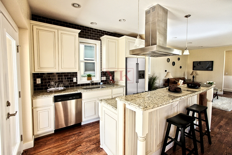 countertops and tile for flip houses in highlands area colorado